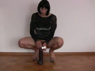 sex toy gepost, nieuw solo film, plezier dildo