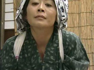japanisch, hausfrau, asiatisch