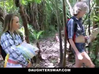 """DaughterSwap- Horny Daughters Fuck Dads on Camping Trip <span class=""""duration"""">- 10 min</span>"""