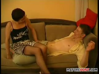 Mature Woman Having Some Fun Fucking