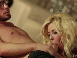 Huge boobs blonde Courtney Taylor railed