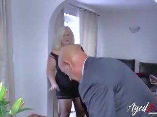Agedlove Businessman Came to Fuck Busty Mature: HD Porn 91
