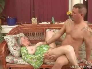 Granny wanks boy in pantyhose story #8