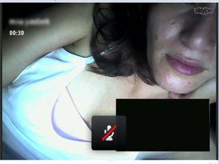 heet tieten scène, vol webcam, vol ezel actie