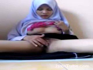 Muslim school girl masturbate
