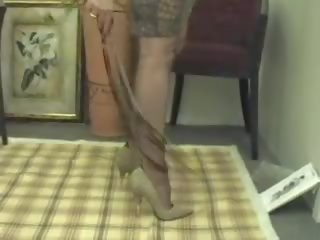 Brown Seamed Stockings from Touchable, Porn 1c