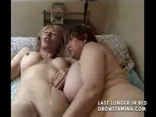 Two grannies and a mature likes a cock