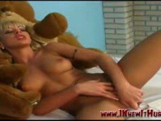 See Blonde Sexbomb Karly Keitt
