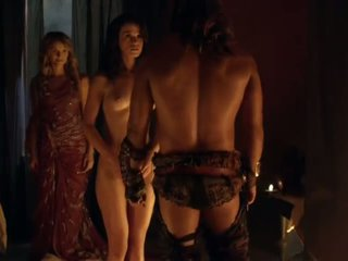 Spartacus sex scene complication