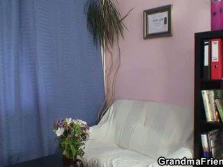 Bestemor trekant ved arbeid sted