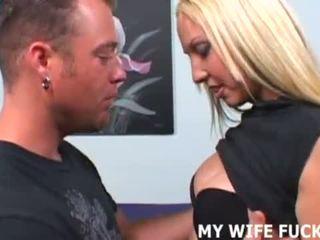 ك زوجة likes taking كبير cocks شاق