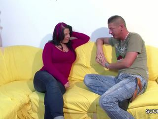 Mommy with Big Tits Seduce to Fuck by Not Step-son: Porn 81