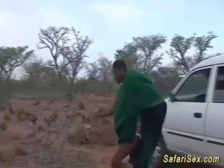 cowgirl vid, alle pijpbeurt scène, plezier afrikaanse mov