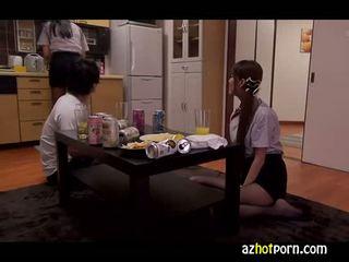 AzHotPorn.com - Lewd Amateur Girls Japanese AV Handjob