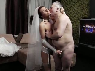 Naughty-hotties.net - Old Man and a Young Bride - Porn Video 661