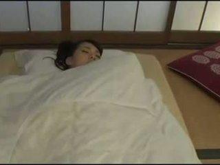 Hübsch japanisch ehefrau - masturbation