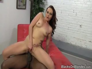 Josi Valentine fucks a long black meat