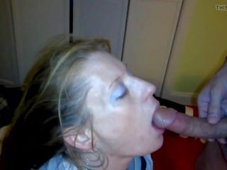 Mandy: Cum Swallowing & Cum in Mouth Porn Video