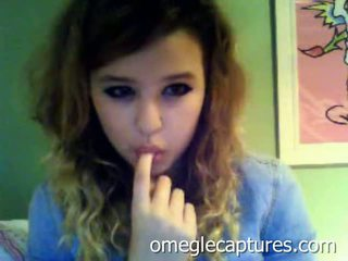 Cute Young Teen Strips And Bates On Omegle Webcam