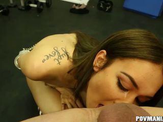 Mila Blaze Sucking Cock POV and Swallowing: Free HD Porn c5