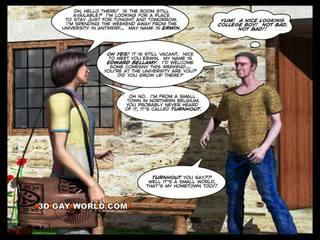 غرفة إلى إيجار 3d مثلي الجنس animated رسوم متحركة comics