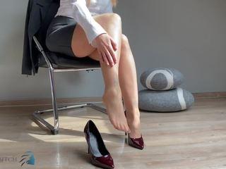 Fuß Asiatisch Anbetung Selbst Fuss Schuh