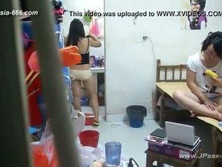 Peeping chinois université dormitory et bathroom.2