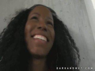 Jamaica fine dark black babe hot tease