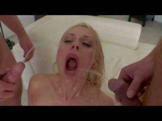 Gangbang Bukkake: Free Facial Porn Video 32