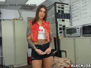 Rocker Chick Destroyed By a Big Black Dick