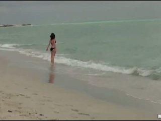 voyeur, beach, bikini, hot nudism