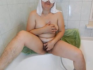 Hairy Mature Masturbated for You, Free HD Porn 5b
