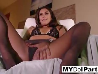 Business Woman Pleasures Her Feet in Her Office: HD Porn 75