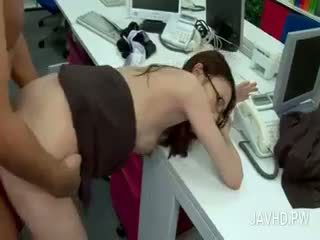 Wild Asian Office Slut Getting Her Muff Nailed At Work