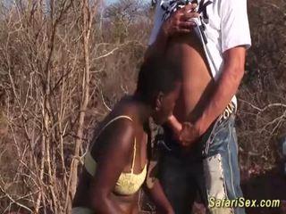 African deepthroat safari orgy <span class=duration>- 12 min</span>