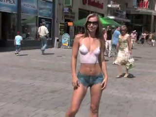 nice naked in public mov, quality exhibitionism, any blonde
