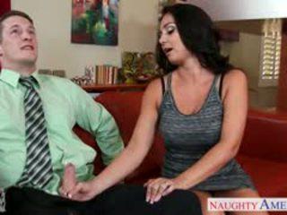 brunette video-, meer grote borsten kanaal, pijpbeurt porno