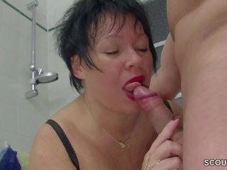 German Step-mom Seduce Big Cock Young Boy to Fuck: Porn 21