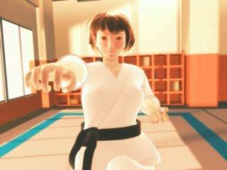 Karate Anime Hentai Girl Sucks Monsters Big Dick