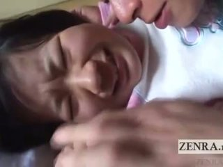 Japan schoolgirl licked all over English subtitles