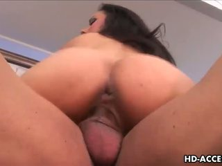 Sexy Nadia Styles gets a mouthful of big cock!