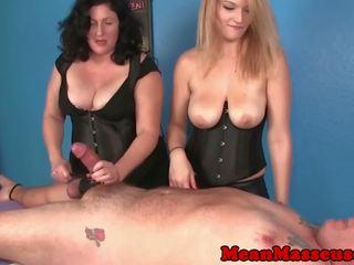 new threesomes thumbnail, quality handjobs porn, hq femdom action