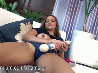 Karter Foxx Masturbating with a Hitachi Wand: Free Porn 53