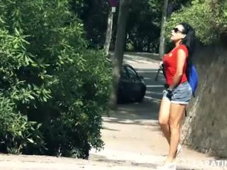 LARA TINELLI Flashing in Public