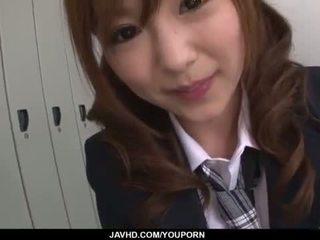 Miku airi азиатки ученичка blows а голям чеп