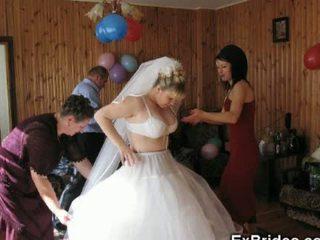 Real Life Brides Nice and Naughty!