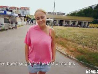 Booby Czech girl Paris Sweet public sex