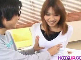 Ai kurosawa krūtinga gets doggy, nemokamai visi japoniškas pereiti porno video