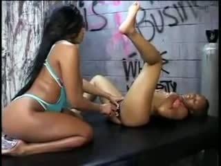 lesbiennes video-, zwart en ebony, gratis voet fetish kanaal