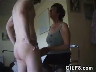 oma video-, alle likken kanaal, heetste femdom mov
